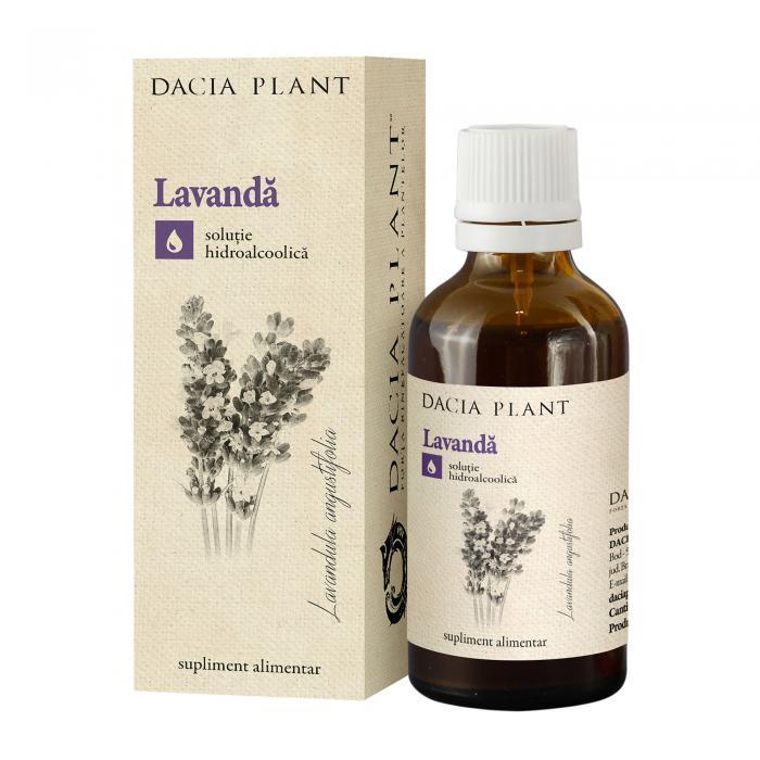 Tinctura Lavanda 50 ml Dacia Plant
