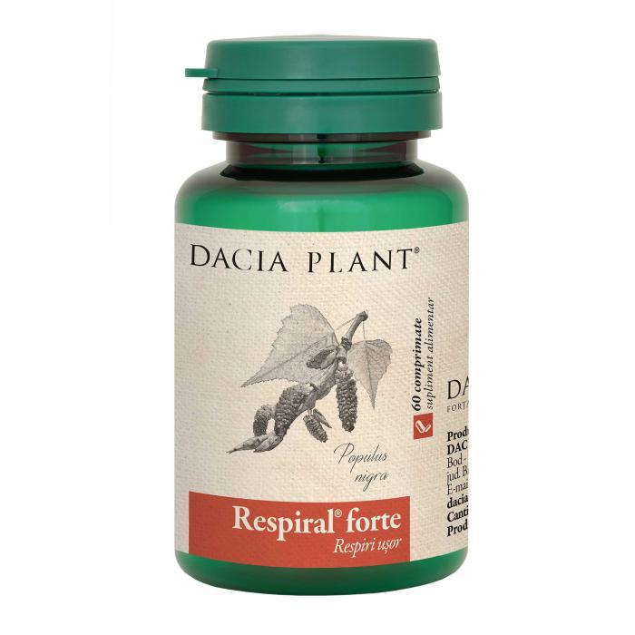 Respiral Forte 60 cpr Dacia Plant
