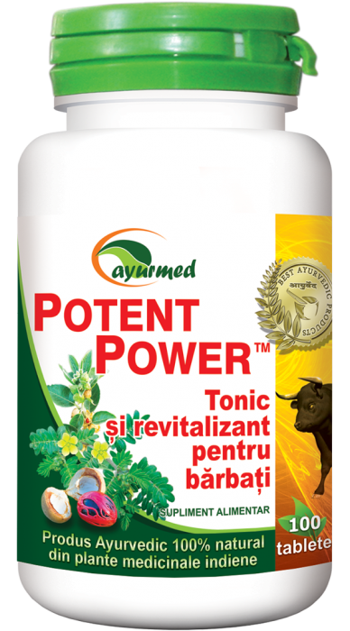 Potent Power Tonic si Revitalizant Barbati 100 tb Ayurmed