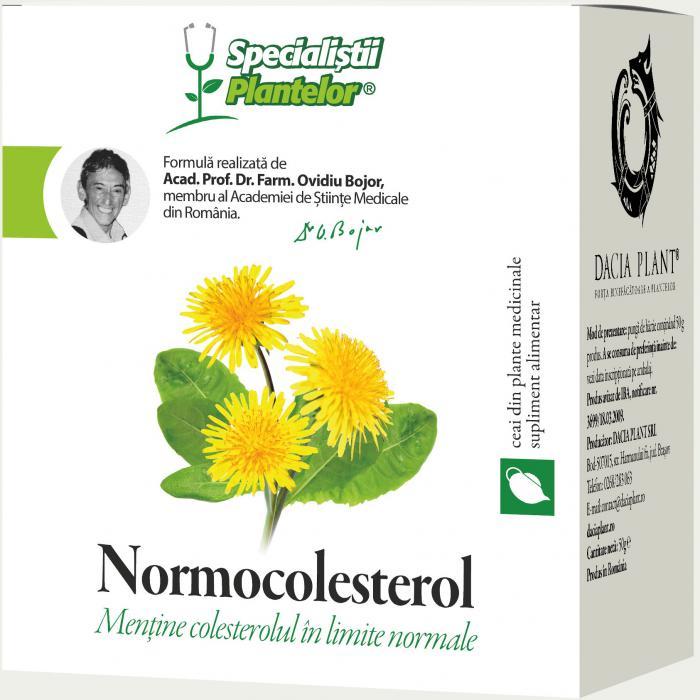 Normocolesterol Ceai 50 g Dacia Plant