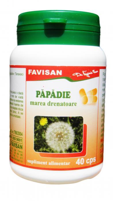 Papadie Dezechilibre Glandulare 40 cps Favisan