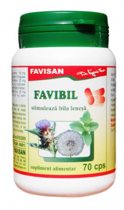 Favibil 70 cps Favisan