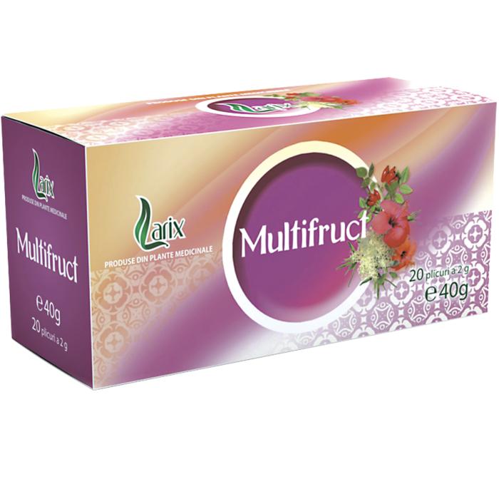 Ceai Multifruct 20 plicuri Larix