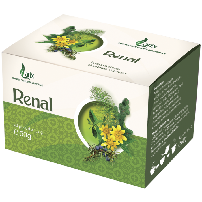 Ceai Renal 40 plicuri Larix
