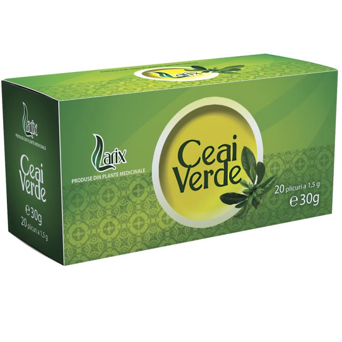 Ceai Verde 20 plicuri Larix