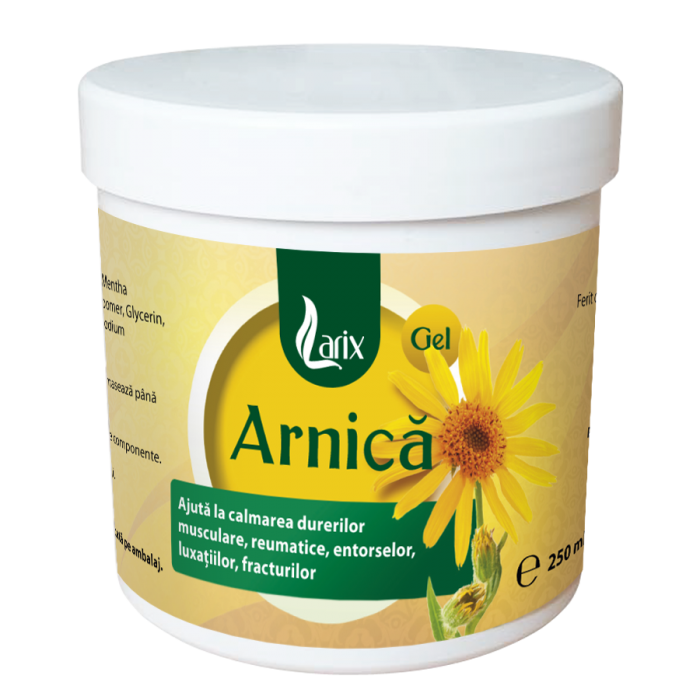 Gel Arnica 250 ml Larix