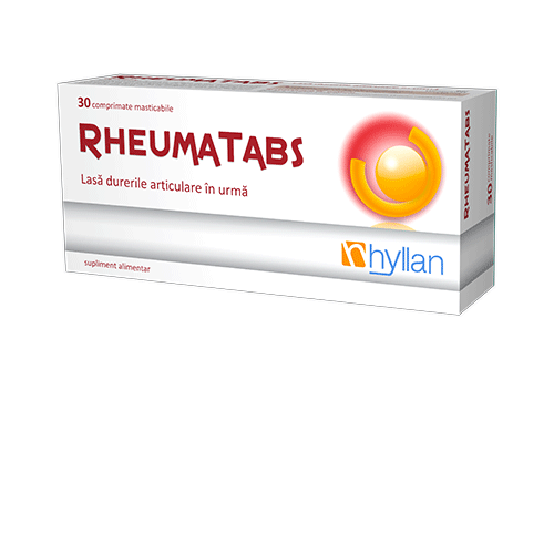 Hyllan Rheumatabs x 30 cpr mast. - Hyllan Pharma