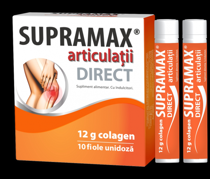 Supramax articulaţii direct*10 fiole - Zdrovit