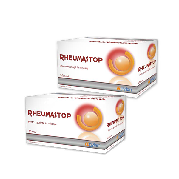 Hyllan Rheumastop x 30 pl 1+1 la 85% Reducere - Hyllan Pharma