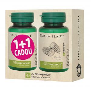 Glicemonorm 60 cpr 1+1 Dacia Plant