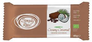 Brawnie Cu Cocos Raw Bio 45 g Simply Raw