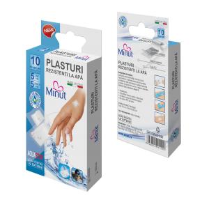 Plasturi Rezistenti la Apa 10 buc Minut