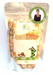 Nuci Macadamia Raw 250 g Obio