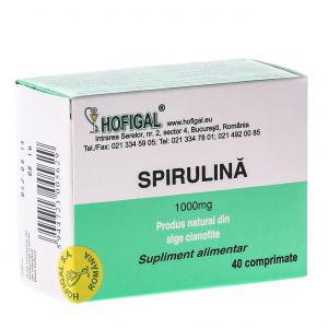 Spirulina 1000 mg 40 cpr Hofigal