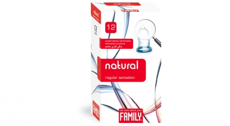 Prezervative  Family Natural 12 Cex Internacional