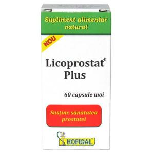 Licoprostat Plus 60 cps moi Hofigal