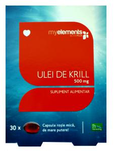 Krill Oil Omega 3 500 mg 30 cps moi Myelements