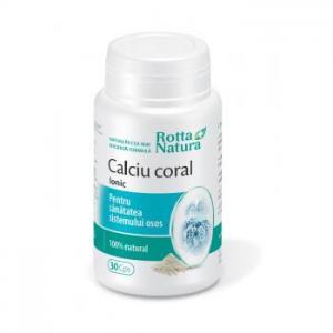 Calciu Coral 30 cps Rotta Natura