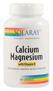 Calciu Magneziu cu Vitamina D 90 cps Secom