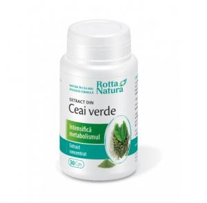 Ceai Verde Extract 30 cps Rotta Natura