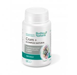 Crom + B-Complex Natural 30 cps Rotta Natura
