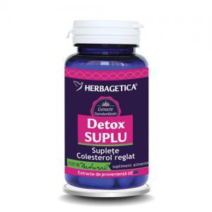 Detox Suplu 60 cps Herbagetica