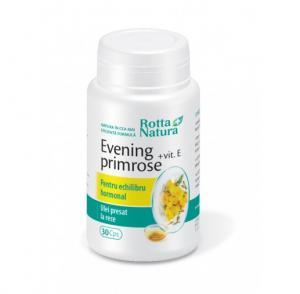 Evening Primrose + Vitamina E 30 cps Rotta Natura
