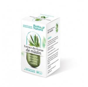 Extract Din Frunze De Maslin 60 cps Rotta Natura