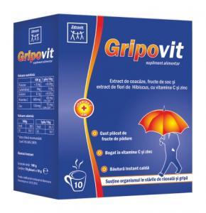 Gripovit 10 plicuri Zdrovit