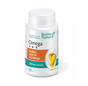 Omega 3-6-9 30 cps Rotta Natura