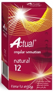 Prezervative Actual Natural 12 Cex Internacional