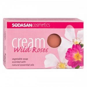 Sapun Crema Ecologic Cu Trandafiri 100 g Sodasan