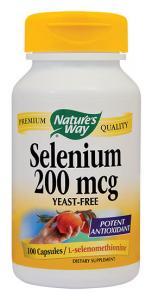 Selenium 200 mcg 100 cps Secom
