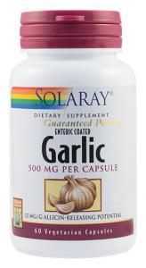 Usturoi (Garlic) 500 mg 60 cps Secom