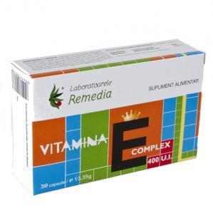Vitamina E Complex 400 UI 30 cps Remedia