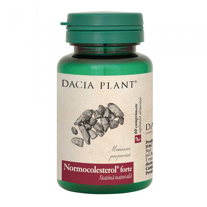 Normocolesterol Forte 60 cpr Dacia Plant 0