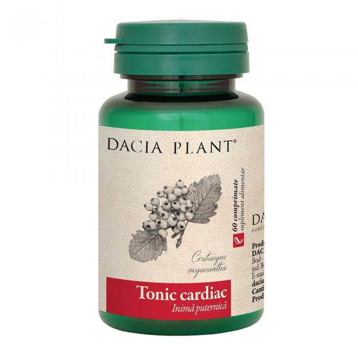 Tonic Cardiac 60 cpr Dacia Plant 0