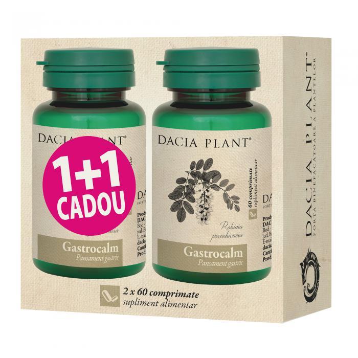 Gastrocalm 60 cpr 1+1 Dacia Plant 0