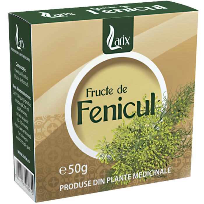 Ceai Fenicul 50 g Larix 0