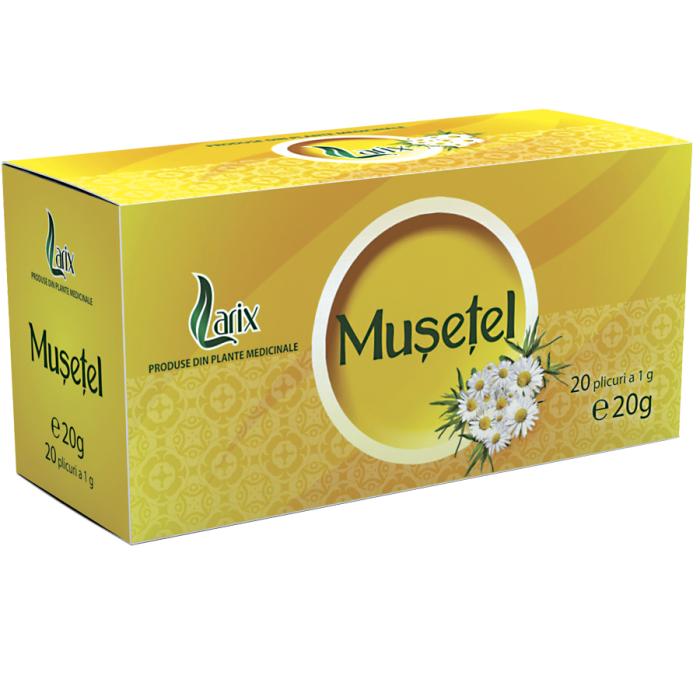 Ceai Musetel 20 plicuri Larix 0