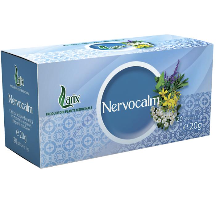 Ceai Nervocalm 20 plicuri Larix