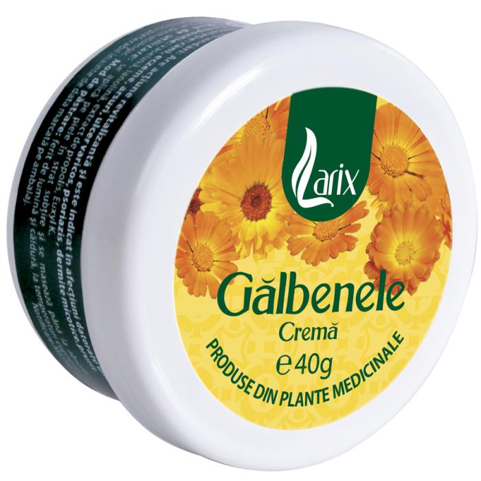 Crema Galbenele 40 g Larix 0
