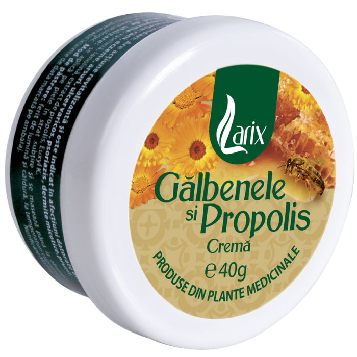 Crema Propolis si Galbenele 40 g Larix 0
