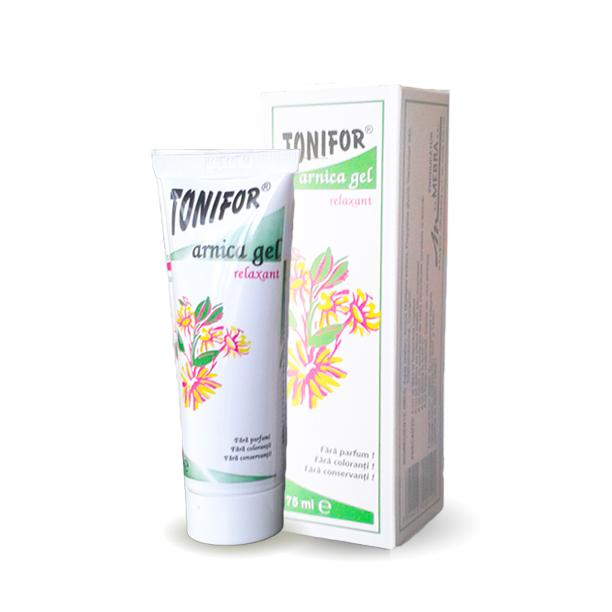 Gel Arnica 75 ml Tonifor