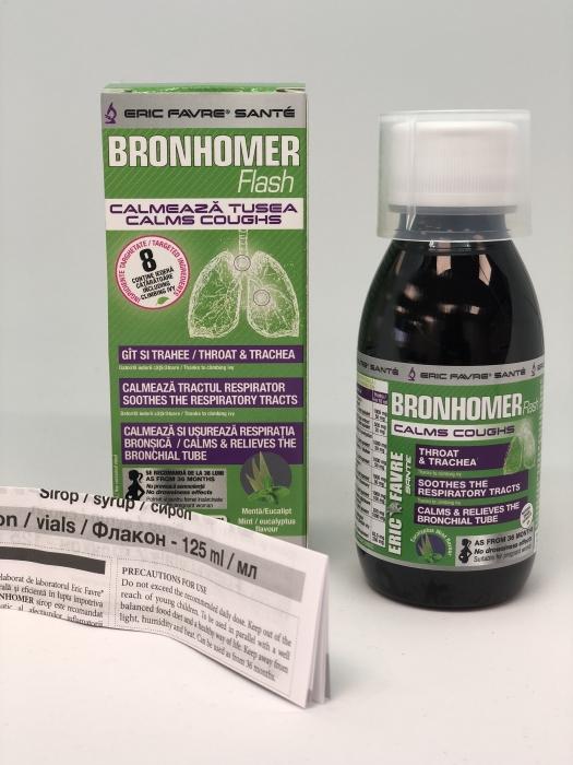 BRONHOMER  125 ml (bronsite, traheite, tuse, voce ragusita )   -  ERIC FAVRE