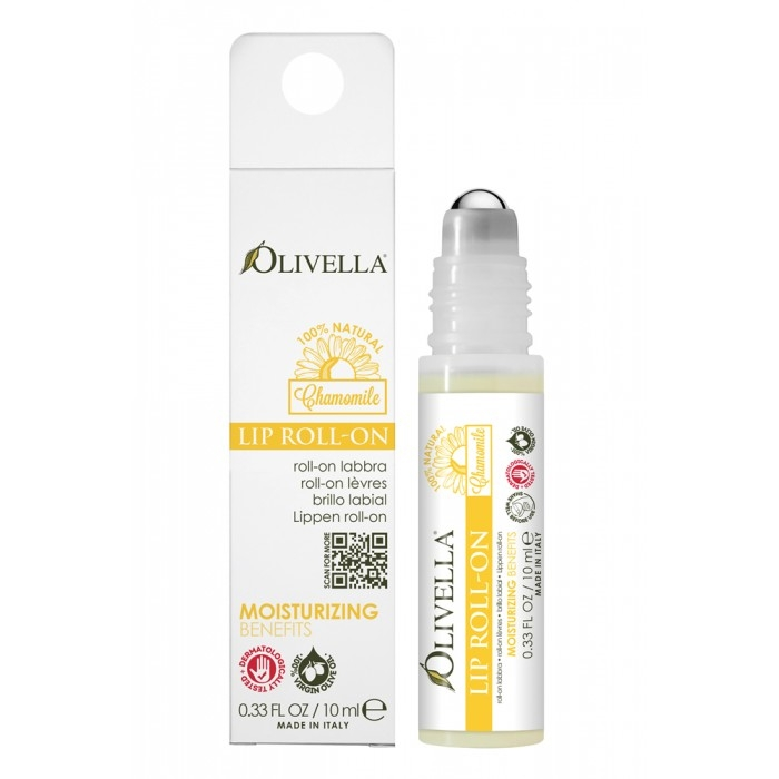 Balsam buze roll-on mușețel 10 ml - OLIVELLA 0