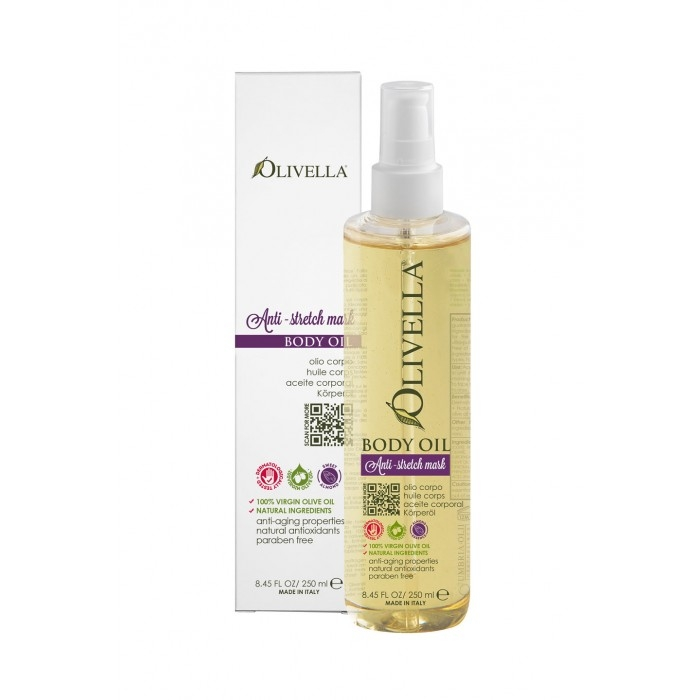 Ulei de corp antivergeturi 250 ml - OLIVELLA