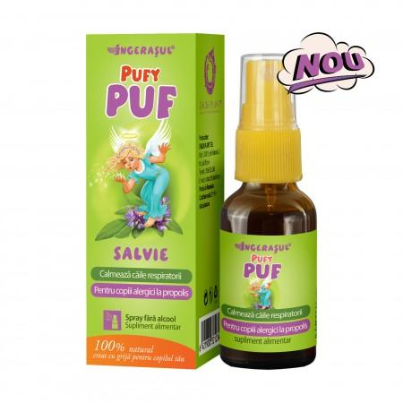 Ingerasul Pufy Puf Salvie Spray 20 ml Dacia Plant 0