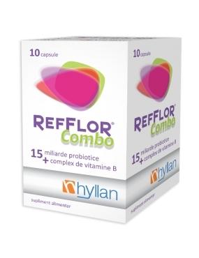 Hyllan Refflor Combo x 10 cps - Hyllan Pharma